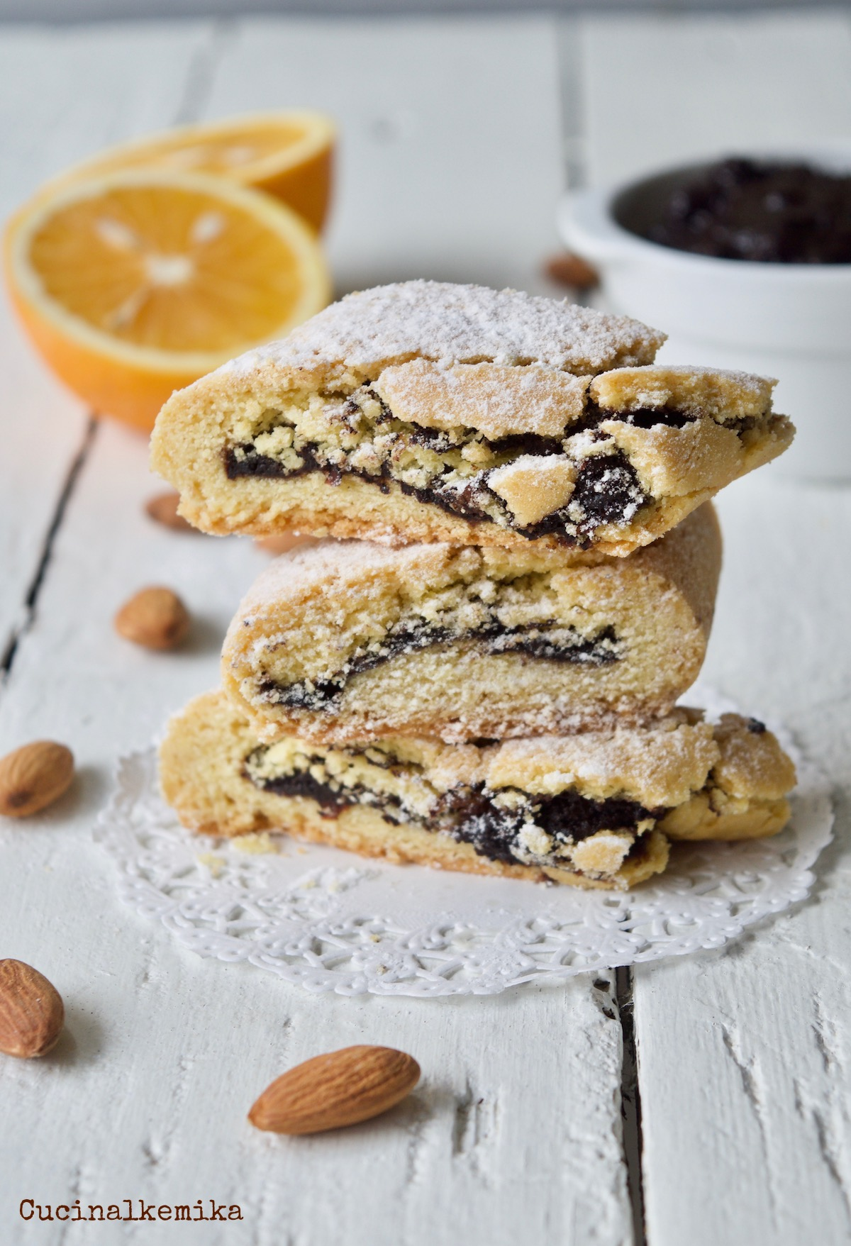 Cucinalkemika_biscotti Marmellata Uva Nera