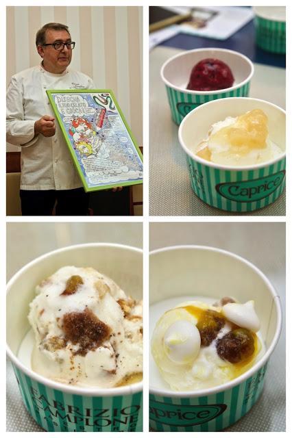 Cucinalkemika Fabrizio Campione gelati Caprice