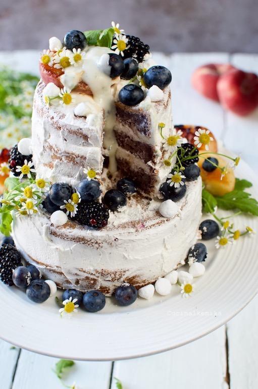 Cucinalkemika_Palagiaccio_Sweet potato blueberry cake