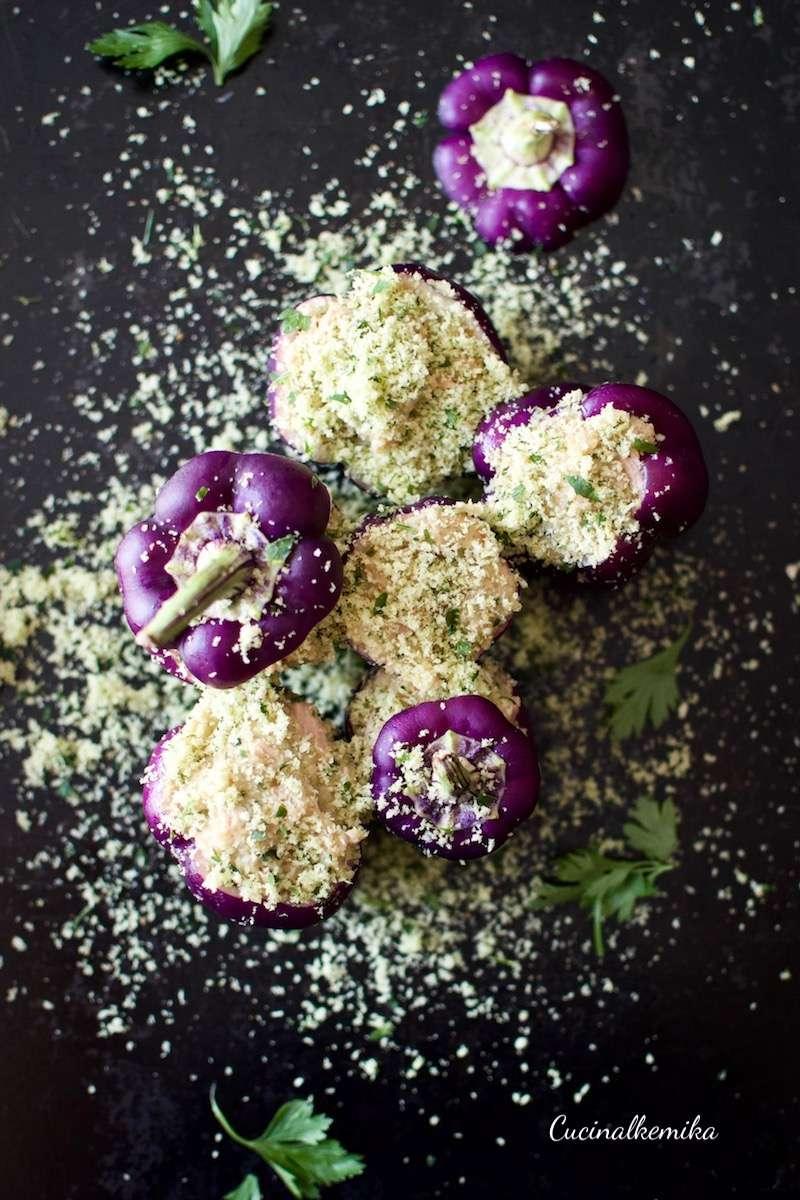 cucinalkemika peperoni viola ripieni